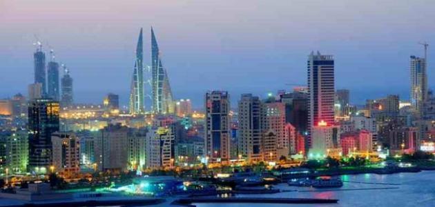 دولة البحرين جزيرة فى الخليج العربى