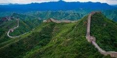سور الصين العظيم من اكبر المشاريع الدفاعية فى العصر القديم