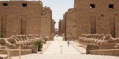 معبد الكرنك اكبر معبد مفتوح فى العالم