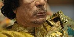 معمر القذافي رئيس ليبيا