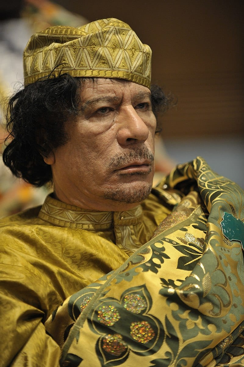 Photo of معمر القذافي رئيس ليبيا