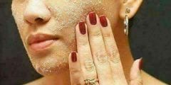 استخدام السكر للعناية بجمال بشرتك وشفاهك