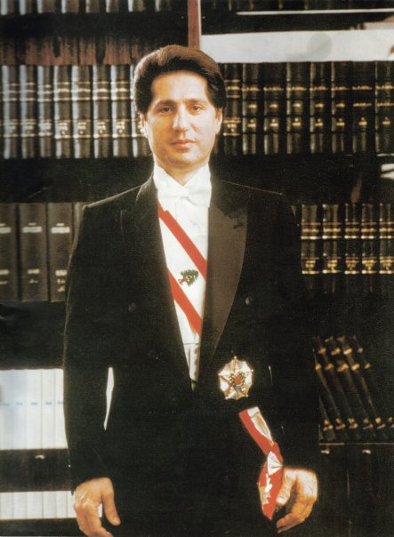 Photo of أمين الجميل رئيس دولة لبنان السابق