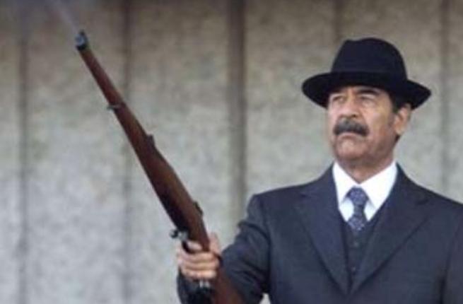 الرئيسصدام حسين مجيد التكريتى رئيس العراق