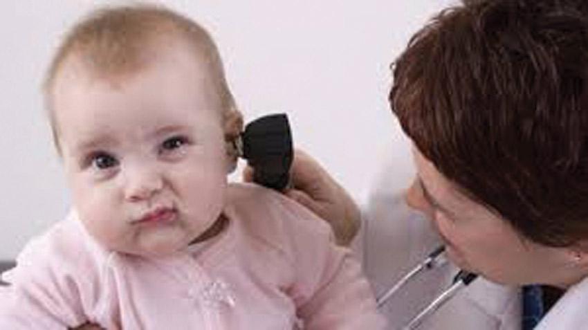 التهاب الأذن الوسطي