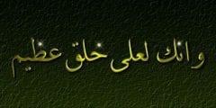 أخلاق سيدنا محمد (صلى الله عليه وسلم)