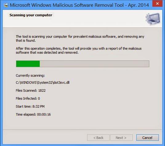 طريقة فحص الكمبيوتر من الفيروسات بدون برامج