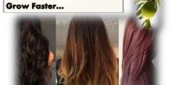 لجعل شعرك ينمو بشكل اسرع