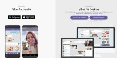 تحميل تطبيق فايبر لاجراء محادثات ومكالمات فيديو لهواتف اندرويد والكمبيوتر