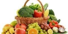 أهمية تناول الفواكه والخضراوات لصحة الإنسان