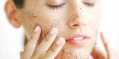 وصفات طبيعية لازالة الخلايا الميتة من الوجه