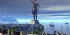 تمثال رودس من عجائب الدنيا السبعة القديمة