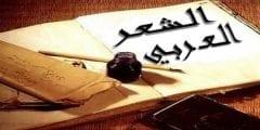 الشعر العربى
