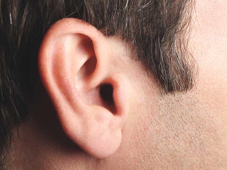 صورة التهاب الاذن الوسطى