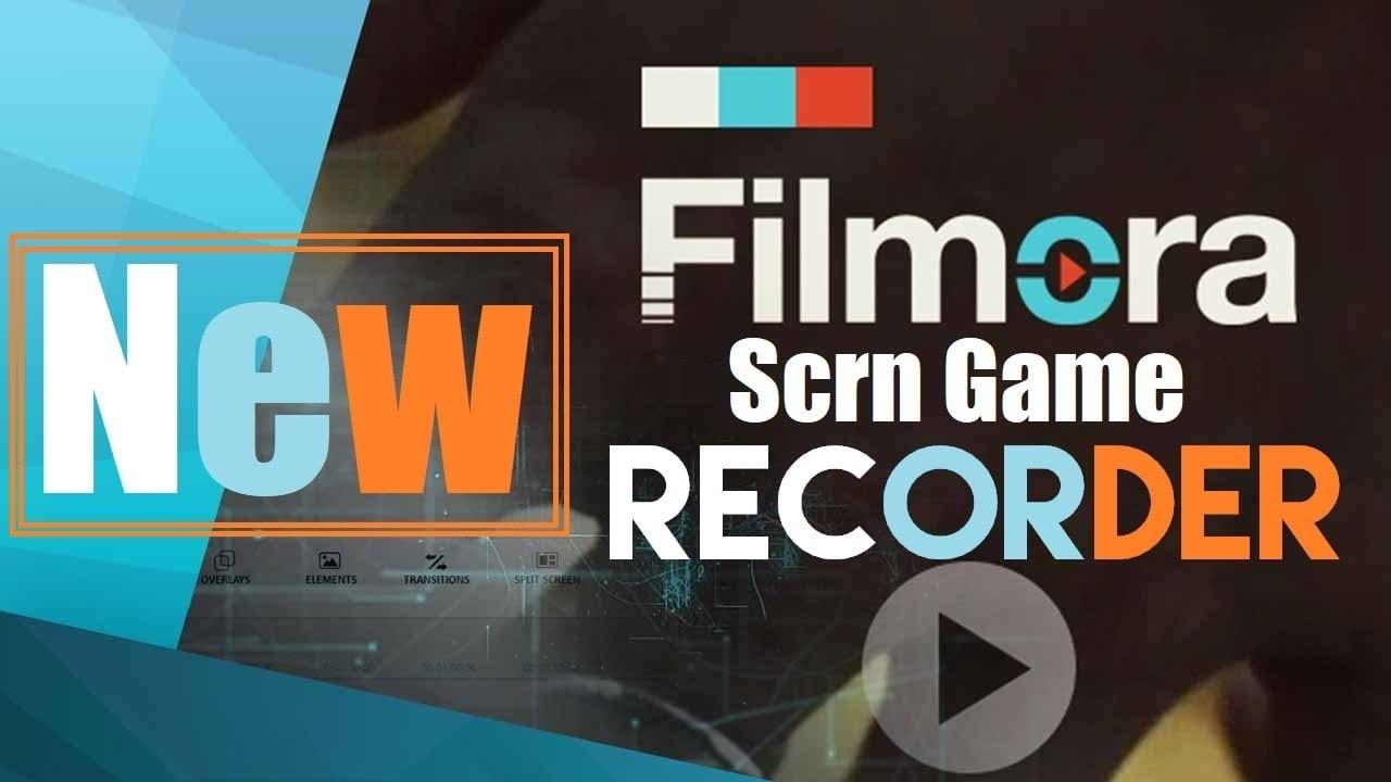 برنامج Filmora Scrn الرائع والمميز في تسجيل الشاشه و تصوير الالعاب بالفيديو