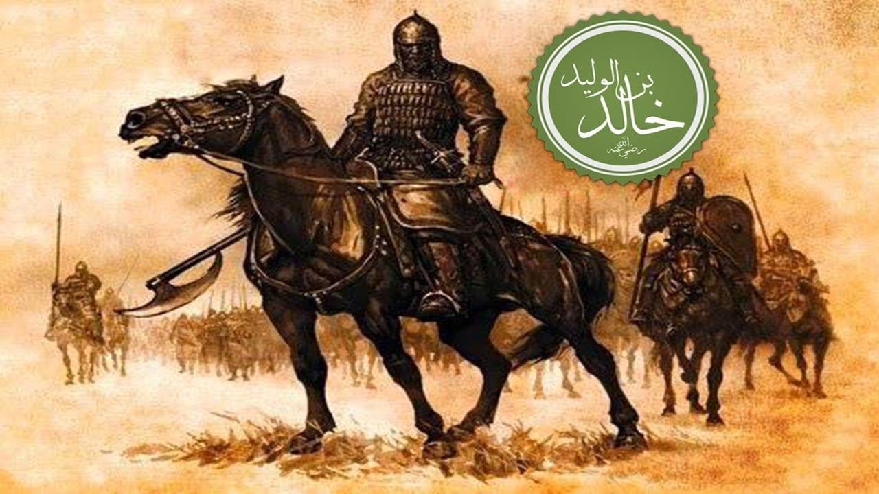 صورة بطولة خالد بن الوليد في غزوة مؤتة