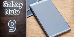 مميزات هاتف سامسونج جالاكسي نوت 9 الجديد من شركة سامسونج