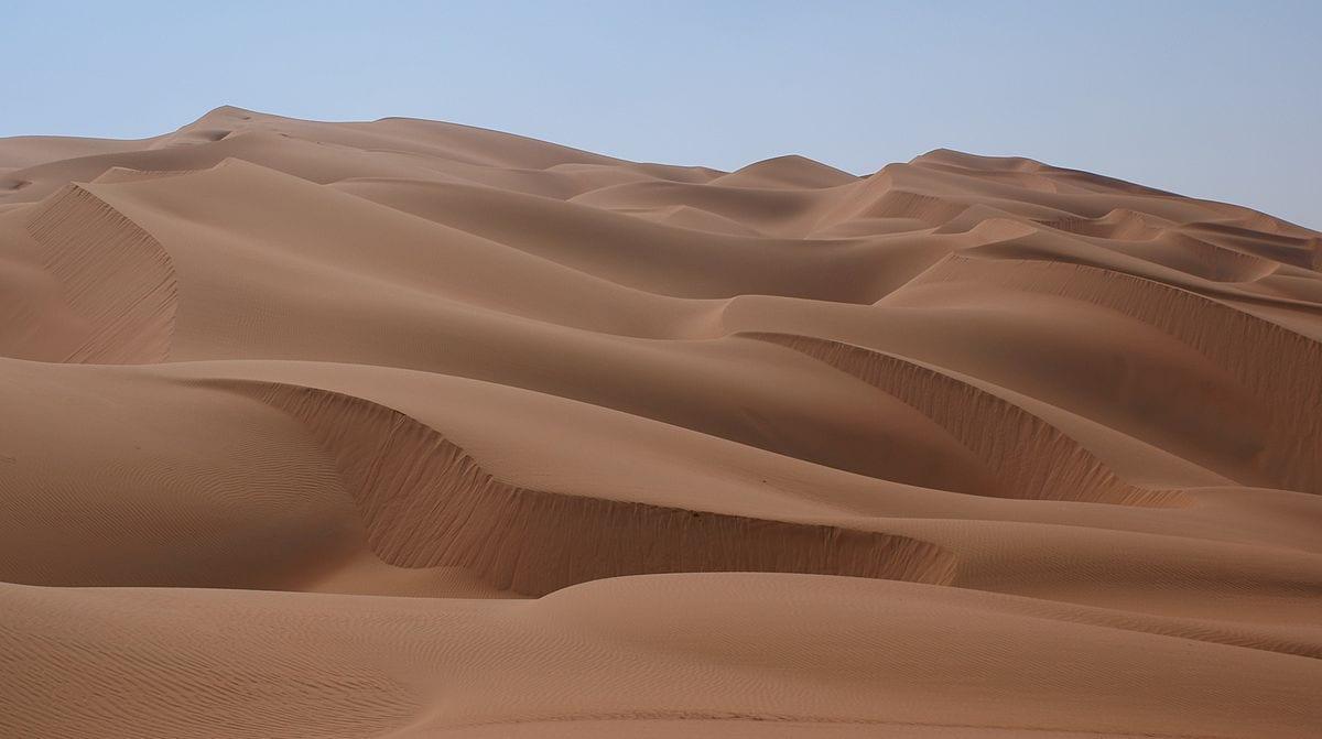 صحراء الربع الخالى