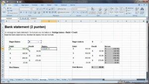 تطبيقات محاسبية باستخدام excel