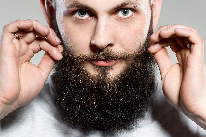 صورة كيف ينمو شعر الذقن في الواقع عند الرجال