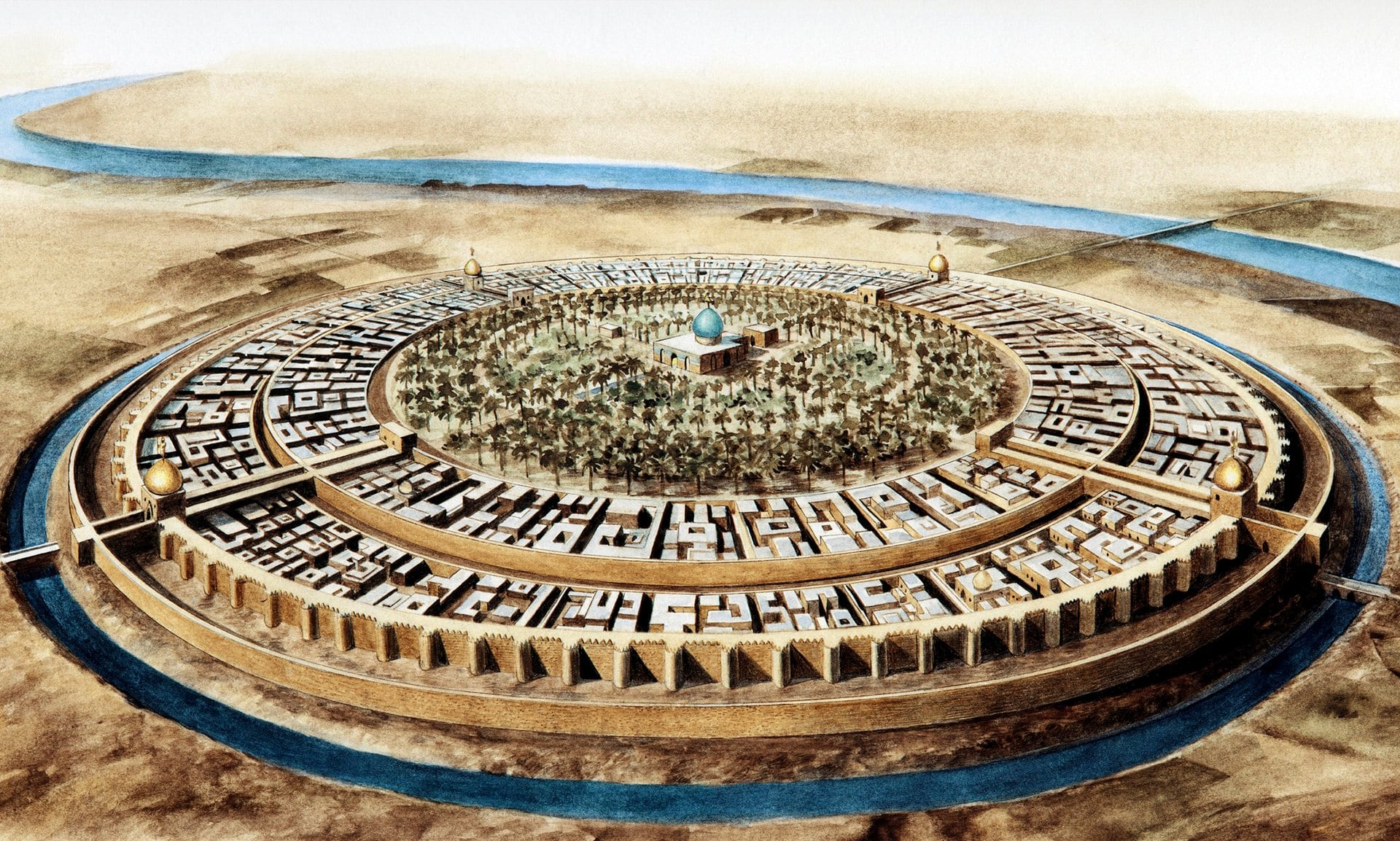 Photo of عاصمة الخلافة العباسية ولقبها مدينة السلام.. كيف كانت بغداد و كيف أصبحت؟