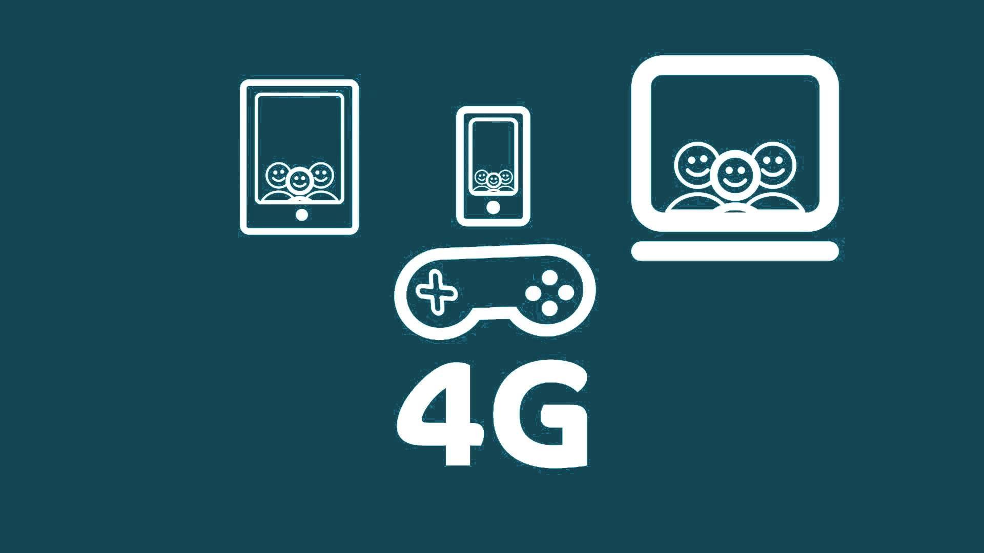 شبكة 4G