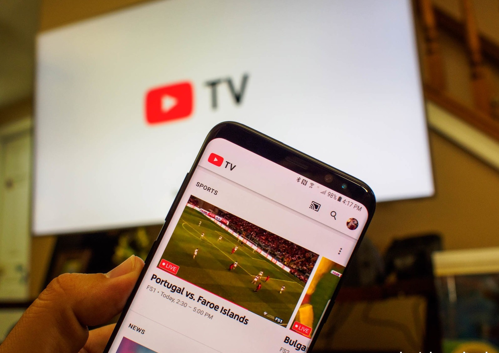 تطبيق Youtube TV