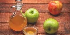 10 فوائد لـ  خل التفاح