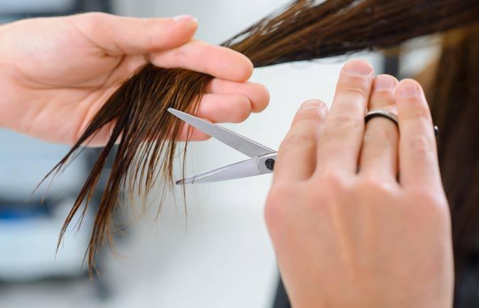 طرق اصلاح الشعر التالف