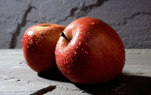 تجربتي مع التفاح على الريق