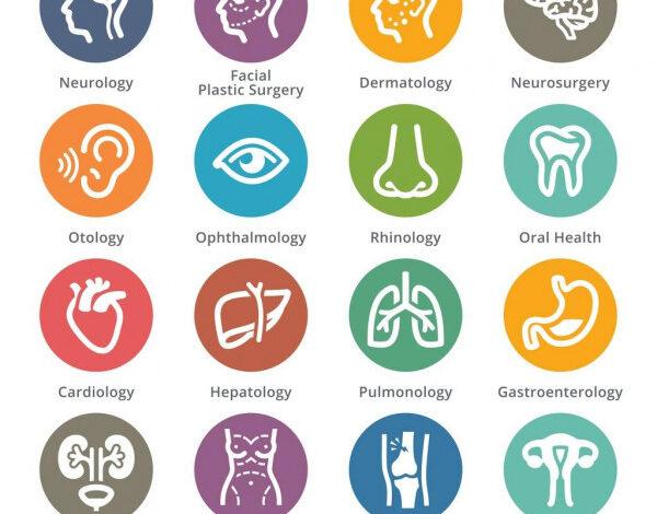 التخصصات الطبية