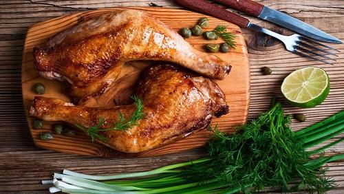 السعرات الحرارية في ورك الدجاج