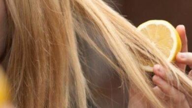إزالة رائحة البيض من الشعر