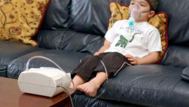 صورة ضيق التنفس عند الاطفال بسبب البلغم
