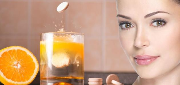 خلطة فوار فيتامين سي لبشرة بيضاء نضرة وحيوية