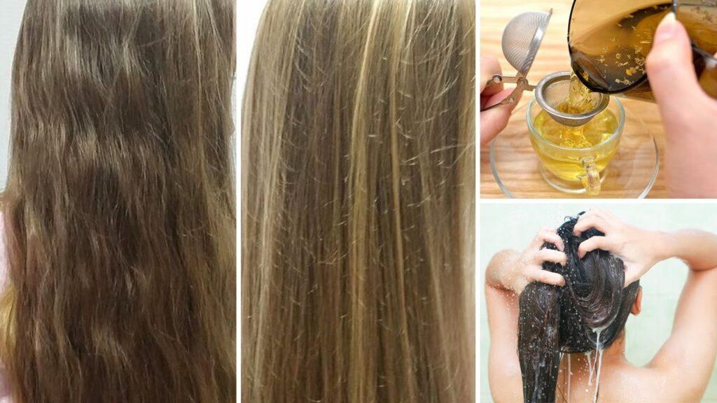 ماء البابونج لتفتيح الشعر