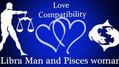 الرجل الميزان والمرأة الحوت في الحب
